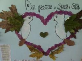 """Dos palomas"" de Rosalía de Castro"